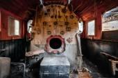 Smeltery yapılan demir — Stok fotoğraf