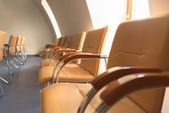 Empty classrom with lot of chairs — ストック写真