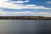 Scenic view of a small island — Stockfoto