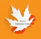 Happy Thanksgiving Day Vector Illustration — Stock Vector