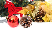 Elegant Classic Christmas Background Card for Celebratiion or In — Stockfoto