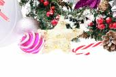 Elegant Classic Christmas Background Card for Celebratiion or In — Stock Photo