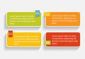 Infographic Templates for Business Vector Illustration. — Stockvektor