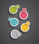 Plansza szablony dla biznes ilustracja wektorowa — Wektor stockowy