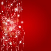 Abstract Beauty Christmas and New Year Background. Vector I — Stockvektor