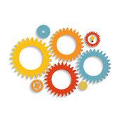 Plantillas infográficas para la ilustración vectorial de negocios. eps10 — Vector de stock