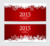 Abstract Beauty 2015 New Year Background. Vector Illustration — Vector de stock