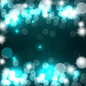 抽象的美圣诞及新年背景。矢量插图 — 图库矢量图片