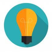 Nova idéia conceito plana ilustração em vetor — Vetor de Stock