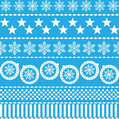Winter Christmas New Year Seamless Pattern. Beautiful Texture wi — Stock Vector