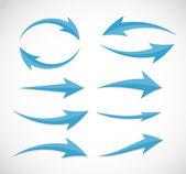 Pijl pictogram teken. vectorillustratie. — Stockvector