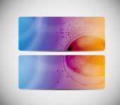 Abstract Aqua Background Vector Iillustration — Stock vektor