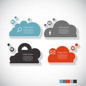 Business infographic sjabloon — Stockvector