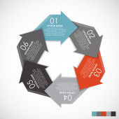 Infographic Templates for Business — Stock Vector
