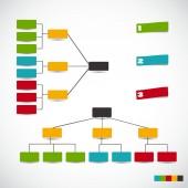 Infographic iş vektör çizim için şablonlar. eps10 — Stok Vektör