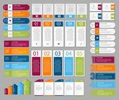 Infographic šablony pro podnikání — Stock vektor