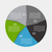 Infographic Templates for Business Vector Illustration. — Stockvektor
