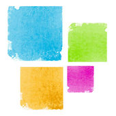 Abstract Watercolor Splash Element — Stock Vector