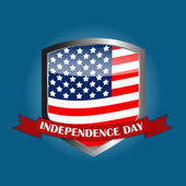 Independence Day Poster Vector Illustration — Stock Vector