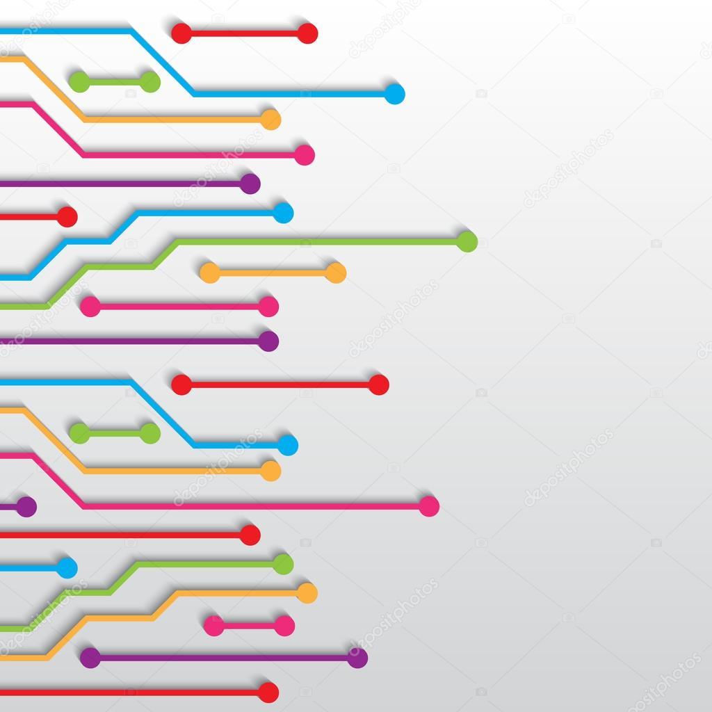 电路板纹理 — 图库矢量图像08