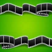 Background with film reel — Stock Vector