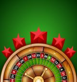 カジノの背景 — ストックベクタ