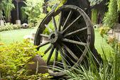 Vintage Wagon Wheel — Stock Photo