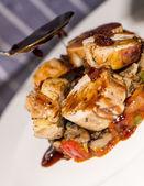 Meats - Guinea Fowl Ballotine — Zdjęcie stockowe