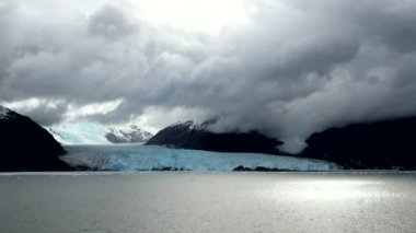 Chile - South Patagonia  Amalia Glacier — Stock Video