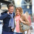 Couple doing shopping on week-end — Stock Photo #53293499