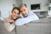 Cheerful mature couple — Stock Photo