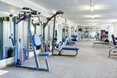 Gym interiör. — Stockfoto