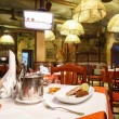 Italian restaurant interior. — Stockfoto #54039393