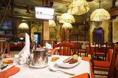 Italian restaurant interior. — Stock fotografie