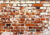 Old red bricks background. — Photo