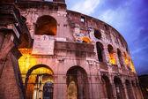 Night view of Roman Coliseum, Rome, Italy. — Stock Photo