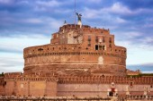 View of Castel Sant'Angelo, Rome, Italy. — Stock Photo
