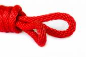 Red Rope . — 图库照片