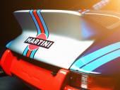 Colorful Porsche automobile — Stock Photo