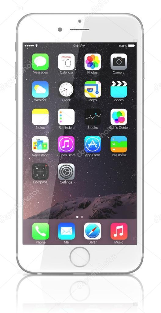 Картинки айфон яблоко