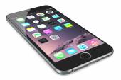 Apple Space Gray iPhone 6 Plus — Zdjęcie stockowe