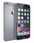 Apple Space Gray iPhone 6 Plus — Стоковое фото