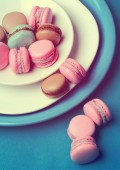 Traditional french macarons  — Stock Photo