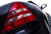 Rear tail light assembly on a modern car — Stock Photo
