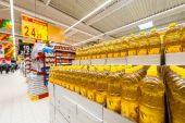 Photos at Hypermarket Carrefour Galati — Stockfoto