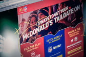 Photo of McDonald's homepage on a monitor screen — Stock Photo