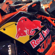 Постер, плакат: KTM racing motorcycle