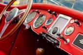 Car exhibition — Stock Photo