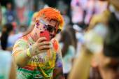 People at The Color Run — Stock Photo
