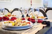Restaurante de lujo nueva y limpia al estilo europeo — Foto de Stock